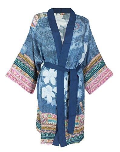 Desigual Kimono | EXOTIC JEANS 5106 ibiza - L/XL - Denim-kimono