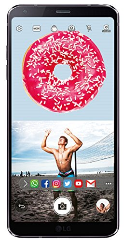 (CERTIFIED REFURBISHED) LG G6 LGH870DS (Astro Black, 64GB)