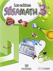 Les cahiers Sésamath 3e : Cahier élève