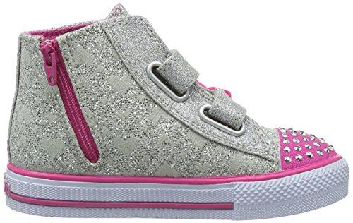 Skechers ShufflesSprinkle Steps, Sneaker Bambina Argento (Silber (SLHP)