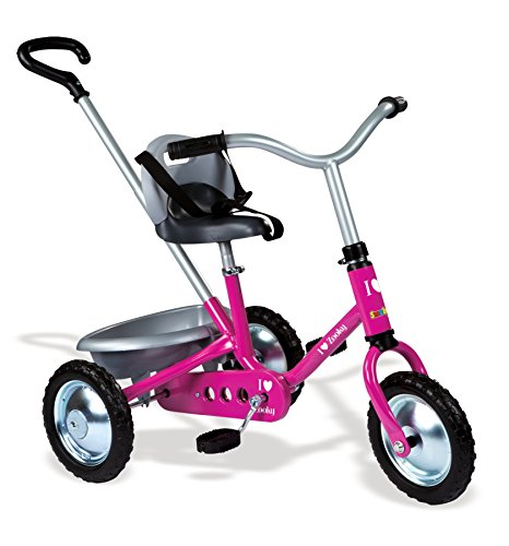 Smoby - 454016 - Zooky Classique - Tricycle avec Canne Amovible -...