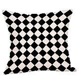 OPAKY Geometrische Kissenbezug Taille Kissenbezug Sofa Home Decor