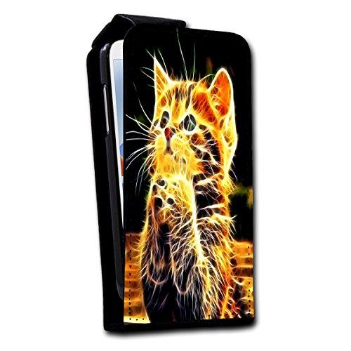 à clapet vertical Housse Case Coque Photo Motif Étui pour Apple iPhone 5/5S Design au choix–Sélection V4, Design 1 (Pourpre) - SB-Vertikal V4 Design 4