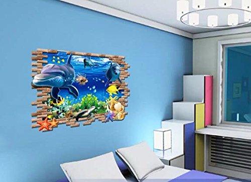 Ruipengpeng foto di parete preventivo sticker adesivo impermeabile rimovibile per la tv in soggiorno background bambini baby nursery prendere il recinto verde costeggiando la linea di sconto