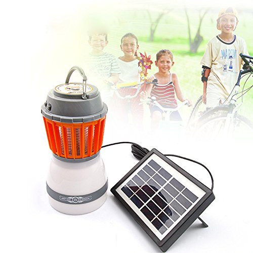 Farol solar LED con repelente de mosquitos