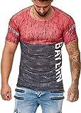OneRedox Herren T-Shirt Fanshirt Fußball Verein Mannschaft Support Bayern Mod. 1221