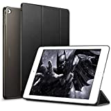 XORB Apple iPad Air 2 Smart Flip Cover PU Leather Case Premium Luxury Revel Touch PU Leather Cover for Apple iPad Air 2 (Smart Sleep Wake Function) (Black)