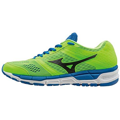 Mizuno Synchro Mx, Chaussures de Running Compétition Homme Vert/Noir