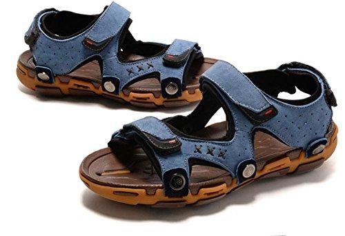 2017 i sandali degli uomini casuali di nuovo sandali di cuoio estate maschio Baotou sandali esterni 1
