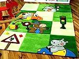 Lifestyle Kinderteppich Ampel Grün in 3 Größen !!! Sofort Lieferbar