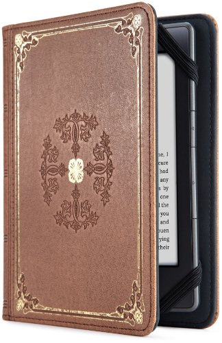 Verso Prologue Antique Custodia per e-reader Kindle, Marrone