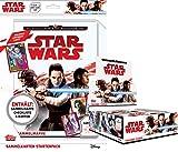 Topps - Die Reise zu Star Wars - Die letzten Jedi - Display, Booster, Starter (1 Display + 1 Starter)