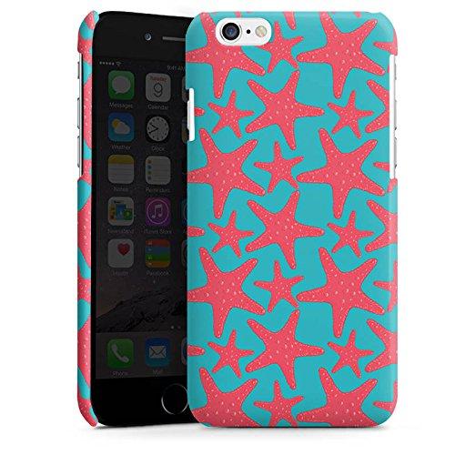 Apple iPhone 6 Housse Étui Silicone Coque Protection Étoile de mer Été Vacances Cas Premium brillant