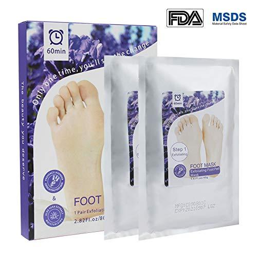 Füße 12 Pcs = 6 Pack Peeling Fuß Maske Für Beine Peeling Pediküre Socken Füße Peeling Maske Toten Haut Glatt Bleaching Maske Fuß Pflege Feine Verarbeitung Hautpflege