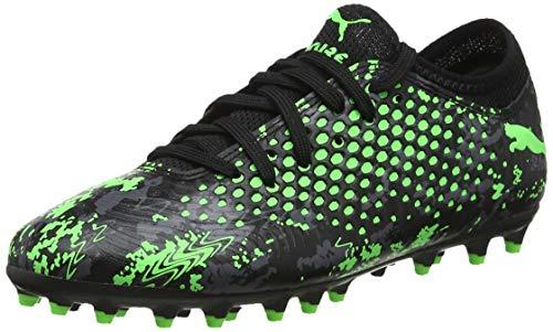 Puma Jungen Future 19.4 MG Jr Fußballschuhe, Schwarz Black-Charcoal Gray-Green Gecko, 35 EU - Puma Fußball Kinder Schuhe