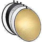 Gary&Ghost-Reflector de Luz Plegable de Discos Múltiples para Iluminación Fotográfica 110CM 5 en 1