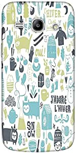Snoogg Lifestyle Pattern 2562 Solid Snap On - Back Cover All Around Protectio...