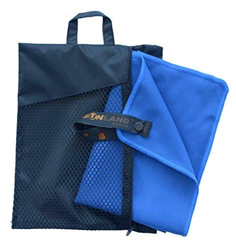 Sunland Extra Leicht und Kompakt Schnelltrocknendes Saugfähiges Microfaser Reisehandtuch Sporthandtuch Fitnesshandtuch Badetuch...