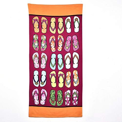 Antibakterielle Handtuch (Krystallove Mikrofaser Handtücher schnelltrocknend antibakteriell platzsparend Ultraleicht, perfekt für Reisen Sport Yoga Fitness Strand - Schal Schal Tapestry Tischdecke Picknickdecke Schal)