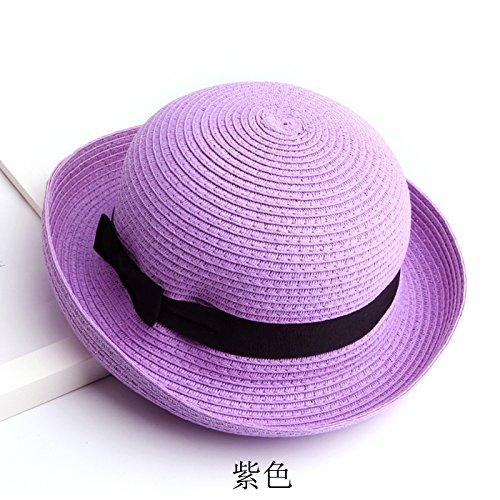 zhangyongcap-ninos-verano-marea-visera-plegable-uv-sun-hat-big-el-tapon-protector-solar-cara-negra-l