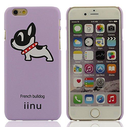 iPhone 6S Coque, iPhone 6 (4.7 Pouce) Coque - Bulldog Series - Nouveau Style Très Mince Très Lumière Rigide Coque (iPhone 6 Plus 5.5 Pouce est pas inclure) Lavande