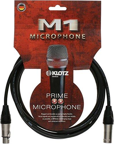 Klotz m1K1fm1000Mikrofon Kabel, Male zu Female, 33' -