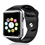 Captcha Alcatel One Touch 810D Compatible And Certified Bluetooth Smart Watch With Sim Card Slot And Nfc Cell Phone Watch Phone Remote Camera ( Get Mobile Charging Cable Worth Rs 239 Free & 180 Days Replacement Warranty )