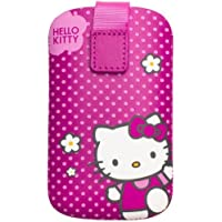 Hello Kitty Universal Leather Pouch for Smartphones - Fuschia