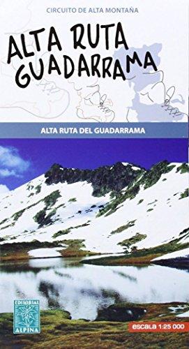 Alta rura del Guadarrama. Mapa-guía. Escala 1:125.000. Editorial Alpina. por VV.AA.