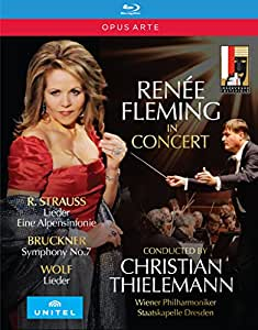 Renee Fleming In Concert [Renée Fleming; Vienna Philharmonic Orchestra; Staatskapelle Dresden; Christian Thielemann] [Opus Arte: OABD7235BD] [Edizione: Regno Unito]