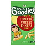 Organix Brands Tomato Cheese and Herb Puffs, 4 x 15g