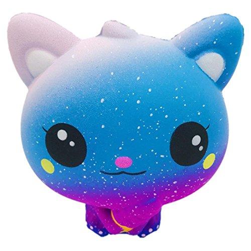 Katzen Duftender Charme Langsames Steigendes Pressungs Stress Helfer Spielzeug (B) ()