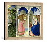 Gerahmtes Bild von Fra Angelico The Annunciation, c.1430-32