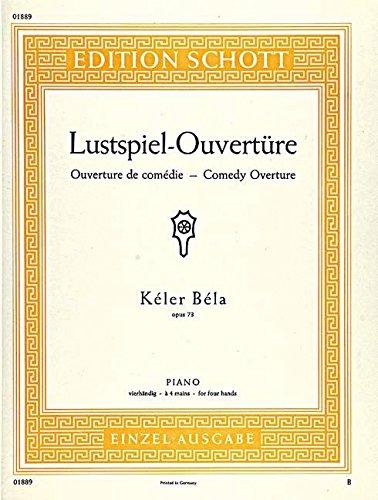 Lustspiel-Ouverture Op. 73 Piano