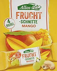 Allos Fruchtschnitte Mango, 10er Pack (10 x 120 g)