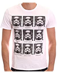 Star Wars Herren T-Shirt Trooper Emotions