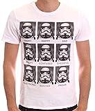 Star Wars Herren T-Shirt, mit Print weiß weiß xx-large