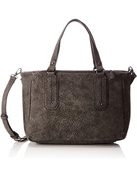 s.Oliver (Bags) Damen Shopper Henkeltasche, Grau (Grau), 12.5x22.5x31 cm