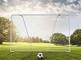 Acon Wave 300 verzinktes Stahl-Fußballtor | 300 x 200 cm in der Größe | Entwickelt für den harten Einsatz