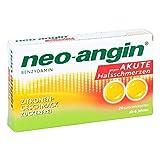 Neo Angin Benzydamin akute Halsschmerzen Zitrone 20 stk
