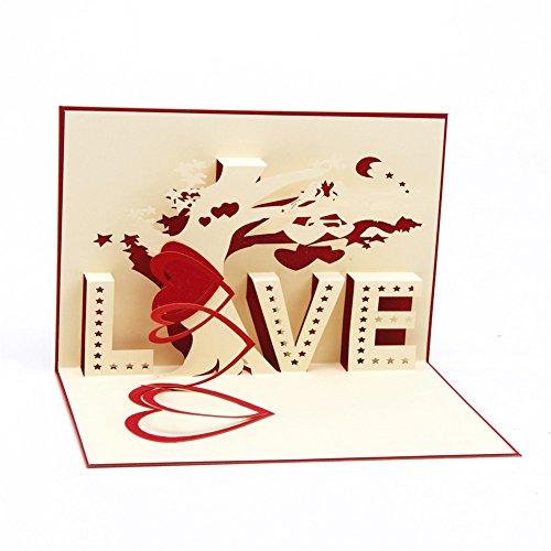 Carte 3D Amour...
