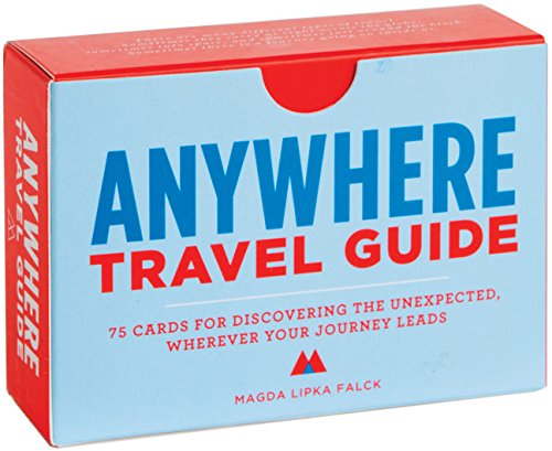 Anywhere: A Travel Guide: 75 Prompts for Journeys Near and Far por Magda Lipka Falck