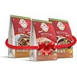 Just2Eat Combo : Dhaba Mutton, Mutton Curry & Mutton Biryani [Pack Of 3] [810 Gm]