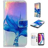 Nadoli Handytasche für Huawei P20 Lite,PU Leder Klapphülle Laser Blau Meerjungfrau Muster Handyhülle Brieftasche... preisvergleich bei billige-tabletten.eu