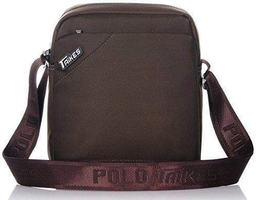 Binlion TAIKES Men's Shoulder Travel Messager Bag Crossbody Ipad Bag Daypack Purple-3