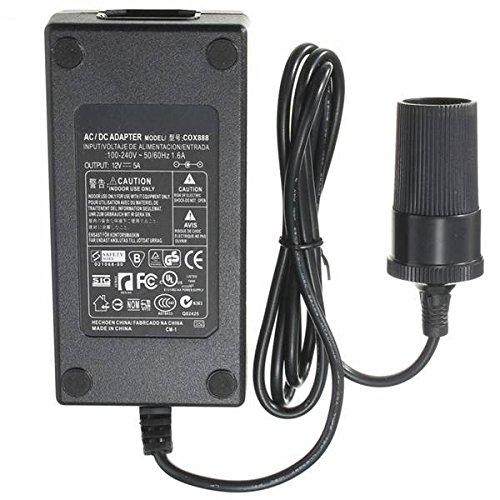 mark8shop AC Power 110-240V zu DC 12V 5A 60W Auto Wechselrichter Zigarettenanzünder Adapter 60 110v Ac Power Adapter