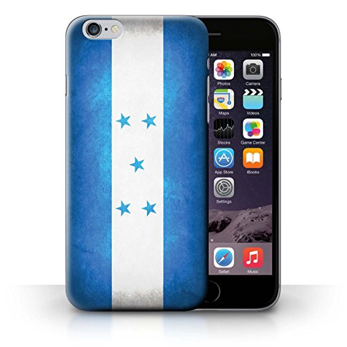 Coque en plastique pour iPhone 6+/Plus 5.5 Collection Drapeau - Suisse Honduras