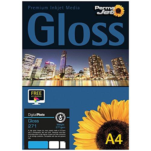 Permajet 50814 Instant DRY Gloss 50 A4 21 x 29,7 cm (A4) Carta fotografica