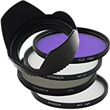 Kit Filtro DynaSun Multicoated UV MCUV 55 mm + Polarizzatore 55 mm +Skylight +FLD +Paraluce