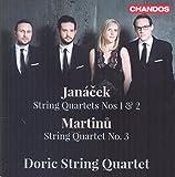 Janacek/Martinu: String Quartets [Doric String Quartet] [CHANDOS : CHAN 10848]